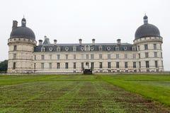 Tuin en Kasteel van Valencay in de Loire-Vallei Royalty-vrije Stock Afbeeldingen