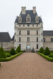 Tuin en Kasteel van Valencay in de Loire-Vallei Royalty-vrije Stock Afbeelding