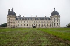 Tuin en Kasteel van Valencay in de Loire-Vallei Stock Afbeeldingen