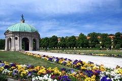 Tuin in München Stock Foto's