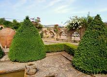 Tuin in paleis in Bulgarije Royalty-vrije Stock Fotografie