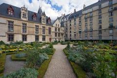 Tuin in Parijs Royalty-vrije Stock Afbeeldingen