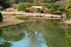 Tuin in Tokyo Royalty-vrije Stock Foto's