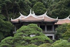 Tuin in Tokyo Royalty-vrije Stock Fotografie