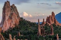 Tuin van de Goden Colorado stock afbeelding