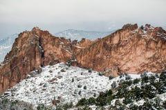 Tuin van de Sneeuw van de Godenwinter Royalty-vrije Stock Foto's