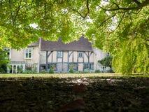 Tuin van het huis van de Meester bij het Lord Leycester-ziekenhuis royalty-vrije stock foto