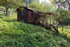 tuin van het zuiden de Duitse plattelandshuisje Royalty-vrije Stock Foto