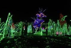 Tuin van Lichten Royalty-vrije Stock Afbeeldingen