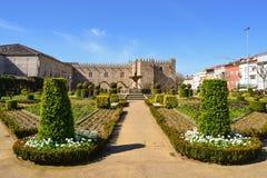 Tuin van Santa Barbarain Braga Royalty-vrije Stock Afbeelding