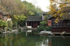 Tuinen in Suzhou, China Stock Foto's
