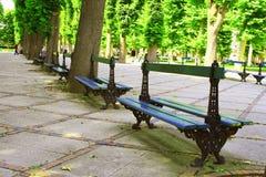 Tuin in vichy-Frankrijk Royalty-vrije Stock Afbeeldingen