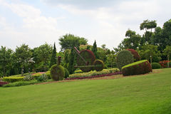 Tuinbouw 2 van Tridimensional royalty-vrije stock afbeelding