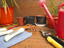 Tuinbouw van de menings de favoriete hobby Stock Fotografie