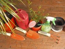 Tuinbouw van de menings de favoriete hobby Royalty-vrije Stock Afbeelding