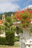 Tuinen alderdi-Eder in San Sebastian Stock Afbeeldingen