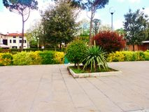 Tuinen bij de advertentie Agliana, Toscanië, Italië van San Niccolo royalty-vrije stock afbeelding
