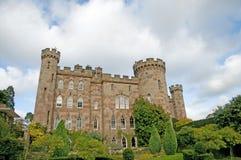 Tuinen en het kasteel Royalty-vrije Stock Foto