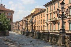 Tuinen en Straten van Bologna royalty-vrije stock foto