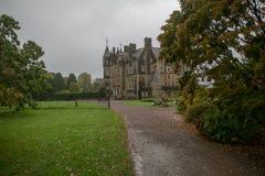 Tuinen van Blarney kasteel in Ierland Royalty-vrije Stock Afbeeldingen
