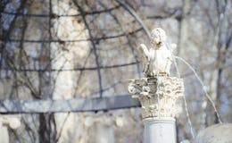 Tuinen van de stad van Aranjuez, in Spanje wordt gevestigd dat Steenpaleis Royalty-vrije Stock Afbeeldingen