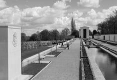 Tuinen van herinnering voor WW2 Amerikaanse dode oorlog royalty-vrije stock foto