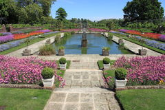 Tuinen van Kensington-paleis Royalty-vrije Stock Foto's
