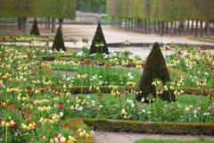 Tuinen van Versalles Stock Afbeeldingen