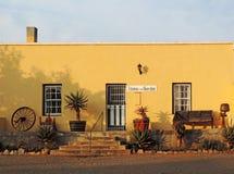 Tuinhuis étranges de vintage (maison urbaine) dans Cradock Photographie stock