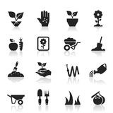 Tuinier een pictogram stock illustratie