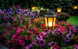 Tuinlamp Stock Foto