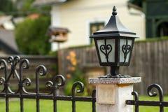 Tuinlamp royalty-vrije stock foto