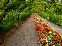 Tuinlandschap royalty-vrije stock afbeeldingen