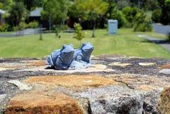 Tuinstandbeelden van paar kikkers Royalty-vrije Stock Afbeelding