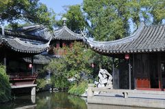 Tuisi garden in Tongl in China Stock Photo