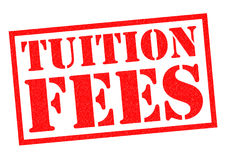 TUITION FEES Royalty Free Stock Photography