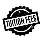 Tuition Fees rubber stamp Royalty Free Stock Photography