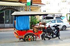 Tuk tuk Καμπότζη, Πνομ Πενχ Στοκ φωτογραφία με δικαίωμα ελεύθερης χρήσης