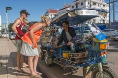 Tuk Вьентьян Tuk, Лаос стоковая фотография