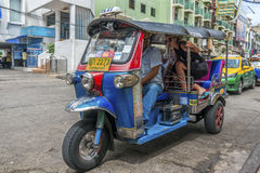 Tuk Bangkok, Tailandia de Tuk Imagen de archivo libre de regalías