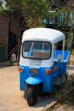 Tuk blu Tuk, taxi tradizionale tailandese in Chiang Mai Thailand fotografia stock