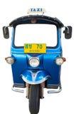 Tuk de Tuk o carro em um fundo branco Foto de Stock Royalty Free