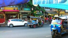 Tuk del tuk di Bangkok Fotografia Stock Libera da Diritti