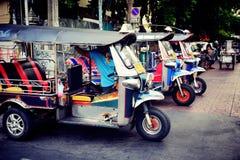 Tuk Tuk Tailandia fotografia stock