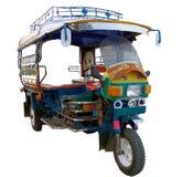 TUK TUK TAJLANDIA, Tuk Tuk, miejscowego transport Obraz Royalty Free