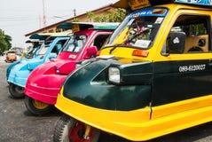 Tuk, Tajlandia samochody Obraz Royalty Free