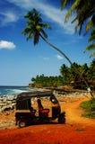 Tuk-tuk海滩 库存图片
