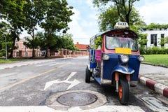 Tuk-Tuk,泰国传统出租汽车 库存照片