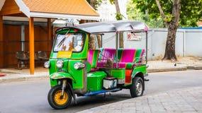Tuk Tuk Μπανγκόκ Ταϊλάνδη Στοκ εικόνα με δικαίωμα ελεύθερης χρήσης