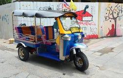 Tuk tuk в Бангкоке Стоковые Фото